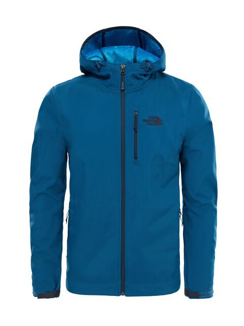 The North Face M's Durango Softshell Hoodie Monterey Blue
